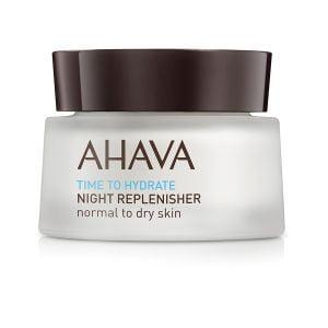 Crema hidratanta de noapte pentru ten normal sau uscat Ahava, 50 ml